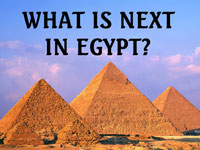 Pastor John S. Torell - message on WHAT IS NEXT IN EGYPT? - Resurrection Life of Jesus Church: Carmichael, CA - Sacramento County