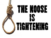 Pastor John S. Torell - message on THE NOOSE IS TIGHTENING - Resurrection Life of Jesus Church: Carmichael, CA - Sacramento County
