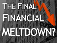 Pastor John S. Torell - message on THE FINAL FINANCIAL MELTDOWN? - Resurrection Life of Jesus Church: Carmichael, CA - Sacramento County