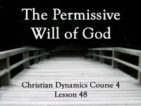 Pastor John S. Torell - Bible study on THE PERMISSIVE WILL OF GOD - Resurrection Life of Jesus Church: Carmichael, CA - Sacramento County