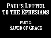 Pastor John S. Torell - sermon on SAVED BY GRACE - Resurrection Life of Jesus Church: Carmichael, CA - Sacramento County