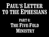 Pastor John S. Torell - sermon on THE FIVE-FOLD MINISTRY - Resurrection Life of Jesus Church: Carmichael, CA - Sacramento County