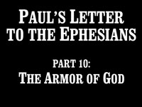 Pastor John S. Torell - sermon on THE ARMOR OF GOD - Resurrection Life of Jesus Church: Carmichael, CA - Sacramento County