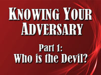 Pastor John S. Torell - sermon on WHO IS THE DEVIL? - Resurrection Life of Jesus Church: Carmichael, CA - Sacramento County