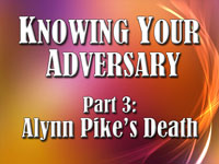 Pastor John S. Torell - sermon on ALYNN PIKE'S DEATH - Resurrection Life of Jesus Church: Carmichael, CA - Sacramento County