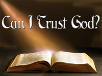 Pastor John S. Torell - sermon on CAN I TRUST GOD? - Resurrection Life of Jesus Church: Carmichael, CA - Sacramento County