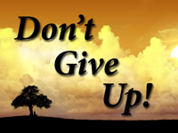 Pastor John S. Torell - sermon on DON'T GIVE UP! - Resurrection Life of Jesus Church: Carmichael, CA - Sacramento County