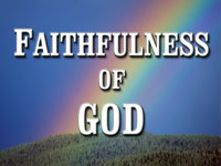 Pastor John S. Torell - sermon on THE FAITHFULNESS OF GOD - Resurrection Life of Jesus Church: Carmichael, CA - Sacramento County