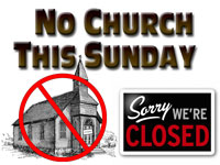 Pastor John S. Torell - sermon on NO CHURCH THIS SUNDAY - Resurrection Life of Jesus Church: Carmichael, CA - Sacramento County