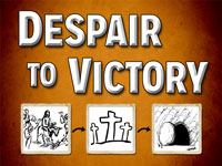 Pastor John S. Torell - sermon on DESPAIR TO VICTORY - Resurrection Life of Jesus Church