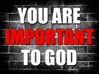 Pastor Charles M. Thorell - sermon on YOU ARE IMPORTANT TO GOD - Resurrection Life of Jesus Church