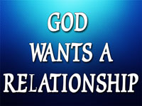Pastor Charles M. Thorell - sermon on GOD WANTS A RELATIONSHIP - Resurrection Life of Jesus Church