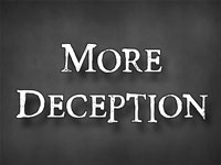 Pastor John S. Torell - sermon on MORE DECEPTION - Resurrection Life of Jesus Church