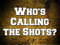 Pastor John S. Torell - sermon on WHO'S CALLING THE SHOTS? - Resurrection Life of Jesus Church