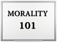 Pastor John S. Torell - sermon on MORALITY101 - Resurrection Life of Jesus Church