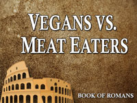 Pastor John S. Torell - sermon on VEGANS VS. MEAT EATERS - Resurrection Life of Jesus Church