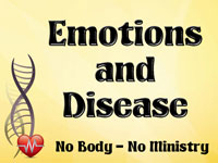 Pastor John S. Torell - sermon on EMOTIONS & DISEASE - Resurrection Life of Jesus Church