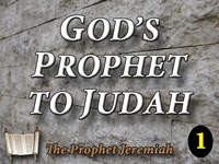 Pastor John S. Torell - sermon on GOD'S PROPHET TO JUDAH - Resurrection Life of Jesus Church