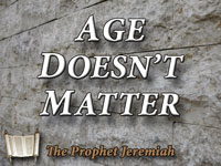 Pastor John S. Torell - sermon on AGE DOESN'T MATTER - Resurrection Life of Jesus Church