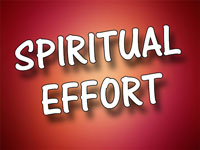Pastor Charles M. Thorell - sermon on SPIRITUAL EFFORT - Resurrection Life of Jesus Church
