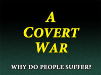 Pastor John S. Torelll - sermon on A COVERT WAR - Resurrection Life of Jesus Church