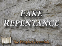 Pastor John S. Torelll - sermon on FAKE REPENTANCE - Resurrection Life of Jesus Church