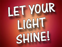 Pastor Charles M. Thorelll - sermon on LET YOUR LIGHT SHINE! - Resurrection Life of Jesus Church