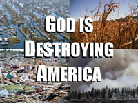 Pastor John S. Torell - message on GOD IS DESTROYING AMERICA - Resurrection Life of Jesus Church: Carmichael, CA - Sacramento County