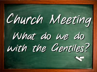 Pastor John S. Torell - sermon on WHAT DO WE DO WITH THE GENTILES? - Resurrection Life of Jesus Church: Carmichael, CA - Sacramento County