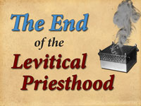 Pastor John S. Torell - sermon on THE END OF THE LEVITICAL PRIESTHOOD - Resurrection Life of Jesus Church: Carmichael, CA - Sacramento County