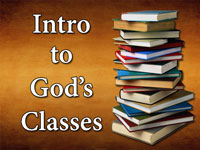 Pastor John S. Torell - sermon on INTRODUCTION TO GOD'S CLASSES - Resurrection Life of Jesus Church