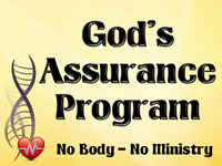 Pastor John S. Torell - sermon on GOD'S ASSURANCE PROGRAM - Resurrection Life of Jesus Church