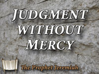Pastor John S. Torelll - sermon on JUDGMENT WITHOUT MERCY - Resurrection Life of Jesus Church
